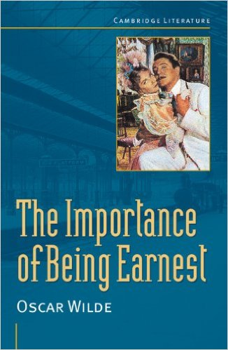 a review of the experience of viewing the play the importance of being earnest Review: the importance of being earnest, vaudeville sexed-up rather than subtle, i can't help but be won over by this fresh take on oscar wilde's the importance of being earnest at the vaudeville theatre.